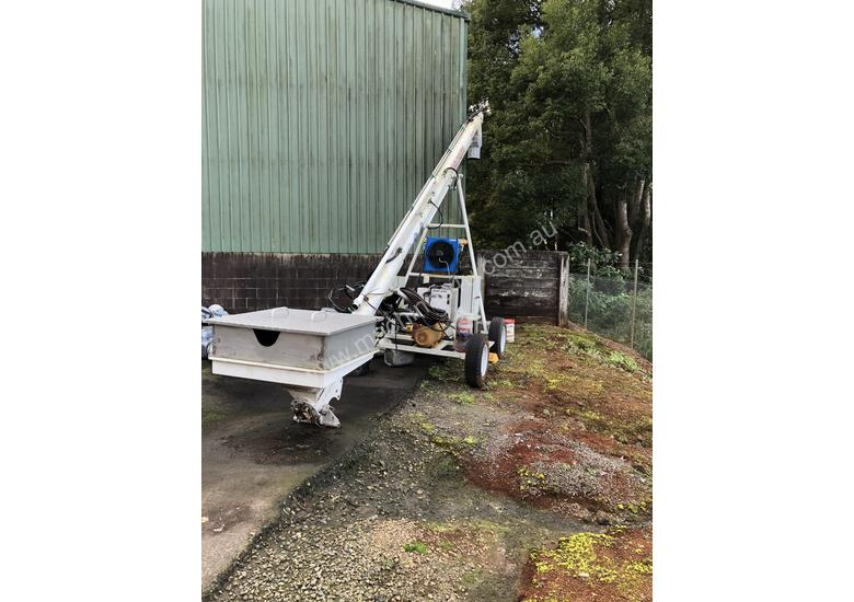 Mobile Loading Auger - Stainless Steel