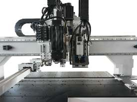Twin independent head. Through feed boring 5 sides with routing - picture3' - Click to enlarge