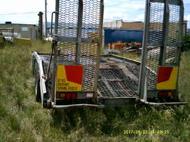 9ton atm camel back trailer Galvenised tandem - picture1' - Click to enlarge