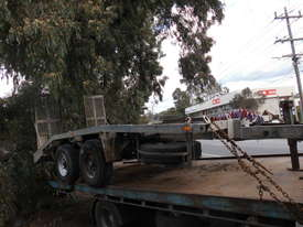 9ton atm camel back trailer Galvenised tandem - picture2' - Click to enlarge
