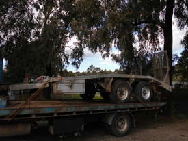 9ton atm camel back trailer Galvenised tandem - picture3' - Click to enlarge