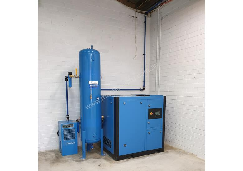 Pneutech PR Series 25hp (18.5kW) Variable Speed Rotary Screw Air Compressor
