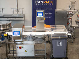 Metal Detector/Checkweigher Combo Machine - picture0' - Click to enlarge