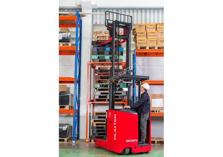 New FBR10-30 Electric Stand-On Reach Truck