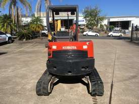 Kubota U35 Tracked-Excav Excavator - picture4' - Click to enlarge