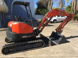 Kubota U35 Tracked-Excav Excavator - picture2' - Click to enlarge