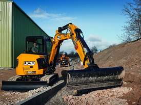 JCB 55Z-1 Mini Excavator 5 Tonne - picture2' - Click to enlarge