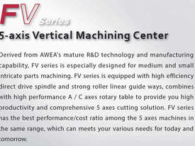 Awea FV-560 & 960 5 Axis Machining Centre - picture3' - Click to enlarge