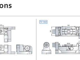Awea FV-560 & 960 5 Axis Machining Centre - picture10' - Click to enlarge