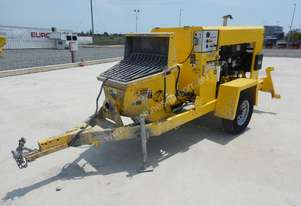 2011 Putzmeister TK15HP Single Axle Trailer Mounted Concrete Pump