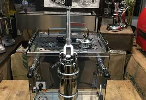 BRUGNETTI DELTA LEVA 1 GROUP STAINLESS ESPRESSO COFFEE MACHINE CAFE CART BARISTA