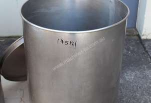 Fallsdell Machinery Stainless Steel Vat