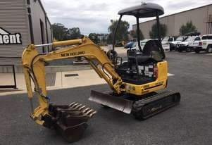 New Holland E18SR mini excavator for sale