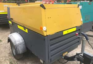 ATLAS COPCO DIESEL TOWABLE AIR COMPRESSOR
