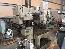Used American Hole Wizard Radial Arm Drill - picture0' - Click to enlarge