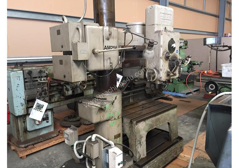 Used American Hole Wizard Radial Arm Drill