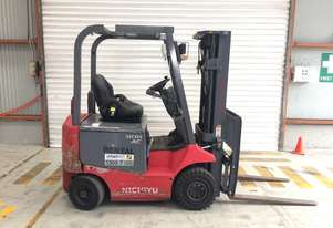 1.8T Battery Electric 4 Wheel Battery Electric Forklift