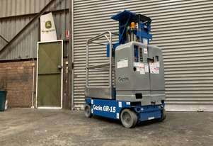 Refurbished Genie GR15 Runabout Vertical lift