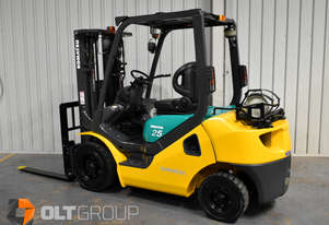 Komatsu 2.5 Tonne Forklift LPG 5792 Low Hours Sideshift 4th Spare Function Container Mast