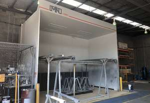 MN Industrial Open Face Spray Booth - near new