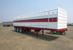 Haulmark Semi Stock/Crate Trailer