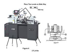 Toolroom Lathe CTL-618 - picture6' - Click to enlarge