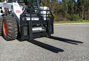Skid Steer 2500kg Pallet Forks - Certified to AS2359