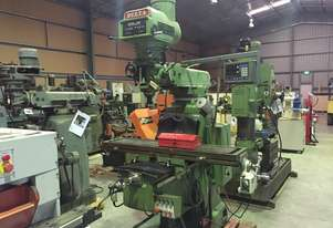 Used Delta 5VH Turret Milling Machine