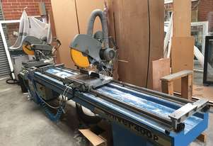400HP Twin Mitre Saw & Dust Collection System