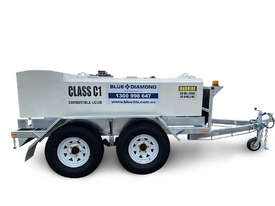 Mine Spec Portable Low Profile Self Bunded Diesel Galvanised Trailers - picture0' - Click to enlarge