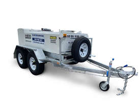 Mine Spec Portable Low Profile Self Bunded Diesel Galvanised Trailers - picture2' - Click to enlarge