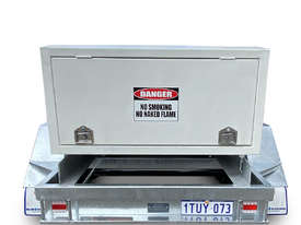 Mine Spec Portable Low Profile Self Bunded Diesel Galvanised Trailers - picture3' - Click to enlarge
