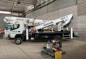ACM230 -  23m 300kg EWP 2017 mounted on 2016 Mitsubishi Canter (4x4)