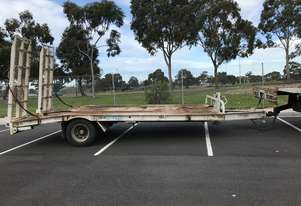 2013 Beavertail Trailers Tag Trailer