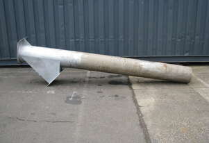 Stainless Pipe with Dump Outlet - 3.25m long