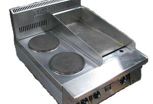 Goldstein PEB2S12G Electric Boiling Top With Griddle