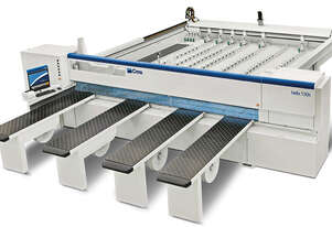 CMS helix 130k / 165k automatic beam saws for plastic materials processing