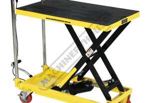 LT-227 Hydraulic Lifter Trolley 227kg Load Capacity 225 ~ 710mm Lift Height