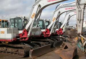 Takeuchi TB1140 Track Mounted For Hire