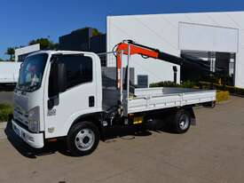 2009 ISUZU NPR 300 - Truck Mounted Crane - Service Trucks - Tray Truck - Tray Top Drop Sides - picture3' - Click to enlarge