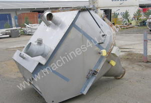 Powder Hopper Stainless Steel Capacity 2Cu Mtr.