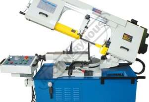 BS-13DS Semi - Automatic, Swivel Head-Dual Mitre Metal Cutting Band Saw Variable Cutting Speeds, Dua