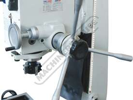 HM-46 Mill Drill - Geared & Tilting Head (X) 475mm (Y) 195mm (Z) 450mm Dovetail Column - picture3' - Click to enlarge