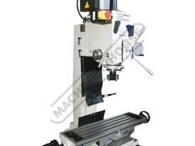 HM-46 Mill Drill - Geared & Tilting Head (X) 475mm (Y) 195mm (Z) 450mm Dovetail Column - picture20' - Click to enlarge