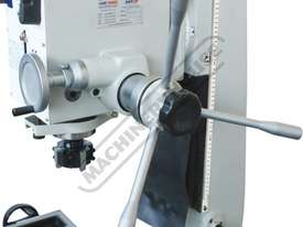 HM-46 Mill Drill - Geared & Tilting Head (X) 475mm (Y) 195mm (Z) 450mm Dovetail Column - picture2' - Click to enlarge