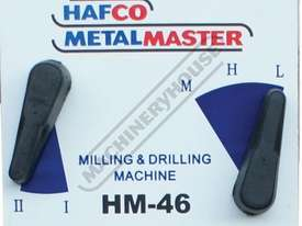 HM-46 Mill Drill - Geared & Tilting Head (X) 475mm (Y) 195mm (Z) 450mm Dovetail Column - picture4' - Click to enlarge