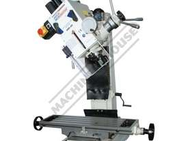 HM-46 Mill Drill - Geared & Tilting Head (X) 475mm (Y) 195mm (Z) 450mm Dovetail Column - picture0' - Click to enlarge