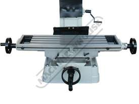 HM-46 Mill Drill - Geared & Tilting Head (X) 475mm (Y) 195mm (Z) 450mm Dovetail Column - picture9' - Click to enlarge
