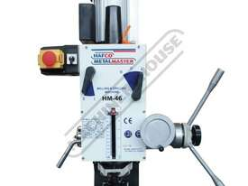 HM-46 Mill Drill - Geared & Tilting Head (X) 475mm (Y) 195mm (Z) 450mm Dovetail Column - picture10' - Click to enlarge