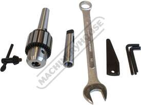 HM-46 Mill Drill - Geared & Tilting Head (X) 475mm (Y) 195mm (Z) 450mm Dovetail Column - picture17' - Click to enlarge